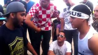 getlinkyoutube.com-Batalha de Rap do museu DF #68 Lil  x Alves - Best Of Rimas
