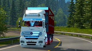 getlinkyoutube.com-Euro Truck Simulator 2 Mercedes axor İle  Sebze Sarmaya Gidiyoruz
