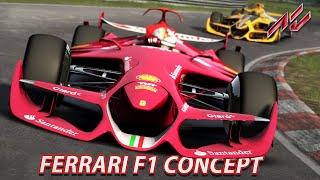 getlinkyoutube.com-Ferrari F1 Concept | Assetto Corsa [GER] [G27] Nordschleife