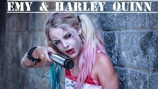 getlinkyoutube.com-Emy & Harley Quinn