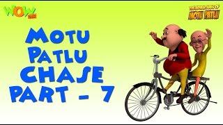 Motu Patlu Chase Compilation - Part 7