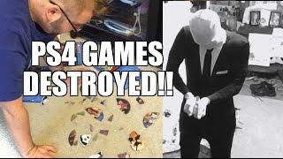 getlinkyoutube.com-SLENDER MAN DESTROYS PS4 GAMES! FAT MAN RAGE REACTIONS!
