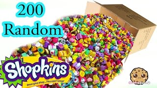 getlinkyoutube.com-Mega Large Random Surprise Lot of 200 Shopkins Season 2, 3, 4 & Exclusives - Video Cookieswirlc