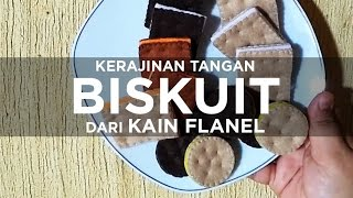getlinkyoutube.com-Handicraft of Flanel Biscuit