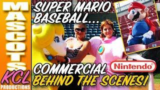 getlinkyoutube.com-MARIO SUPERSTAR BASEBALL Commercial Behind the Scenes with Luigi, Princess Peach & Bowzer