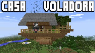 getlinkyoutube.com-MINECRAFT CASA VOLADORA ¡TUTORIAL ESPAÑOL! ¡MAPA DOWNLOAD!