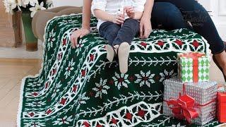 getlinkyoutube.com-How To Crochet A Poinsettia Throw
