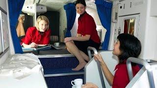 getlinkyoutube.com-شاهد غرف النوم السرية لمضيفات الطيران