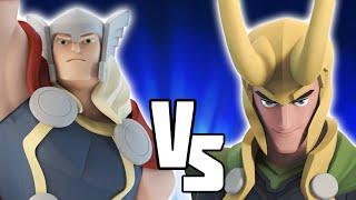 getlinkyoutube.com-Thor VS LOKI - Disney Infinity BATTLES!