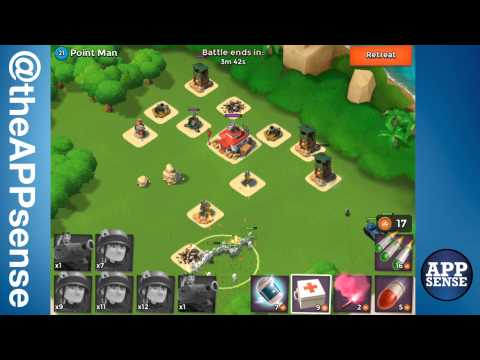 Point Man (21) Single Player Island - Boom Beach Walkthrough