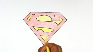 How to Draw the Superman Logo