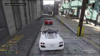 getlinkyoutube.com-GTA 5 AUDI R8 GAMEPLAY