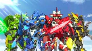 getlinkyoutube.com-Tenkai Knights: Brave Battle - Launch Trailer