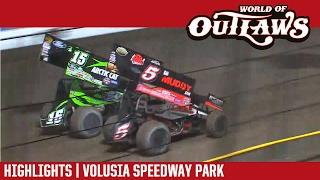 getlinkyoutube.com-World of Outlaws Craftsman Sprint Cars Volusia Speedway Park February 19, 2017 | HIGHLIGHTS