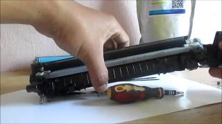 getlinkyoutube.com-How to refill HP LaserjetPro P1102 Printer with CE651A cartridges