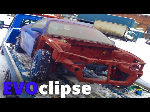 1999 eclipse EVO swap | EVOclipse: restoration and painting of a body