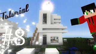 getlinkyoutube.com-Como hacer una casa moderna de cuarzo (8x8) en minecraft pe