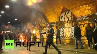 getlinkyoutube.com-UK: Anti-gentrification activists attack Shoreditch's infamous Cereal Killer cafe