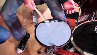 getlinkyoutube.com-Jojo Mayer stick or trick from Drum Depot Cardiff