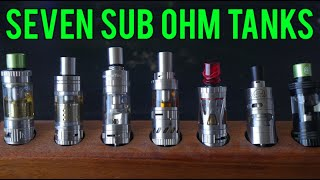 getlinkyoutube.com-7 Sub Ohm Tanks EXTRAVAGANZA! 11-2-15
