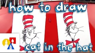 How To Draw The Cat In The Hat