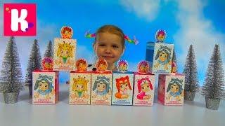 getlinkyoutube.com-Малыши животные коробочки с сюрпризом игрушкой распаковка Blind box with animal baby's toys unboxing