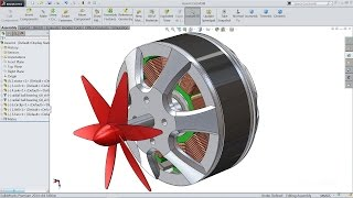 getlinkyoutube.com-Solidworks tutorial   sketch DC motor in Solidworks