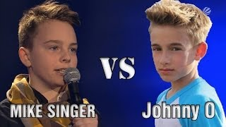 getlinkyoutube.com-Mike Singer VS Johnny Orlando - Beauty and a Beat (Justin Bieber Cover)