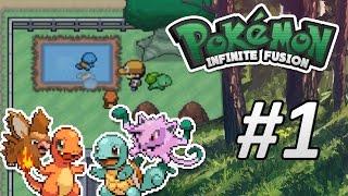 getlinkyoutube.com-¡FUSIONANDO POKÉMON! - #1 Pokémon Infinite Fusion | Grillo&Lugre