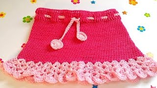 CROCHET SKIRT FOR BEGINNERS-2