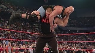 "getlinkyoutube.com-Brock Lesnar attacks ""Stone Cold"" Steve Austin"