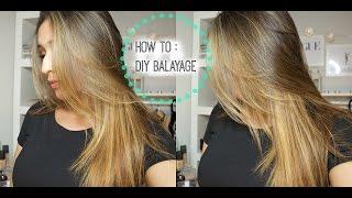 getlinkyoutube.com-HOW TO : DIY Lighten/Balayage your hair at home