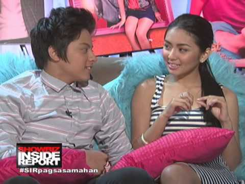 Kathryn & Daniel Interview on SHOWBIZ INSIDE REPORT