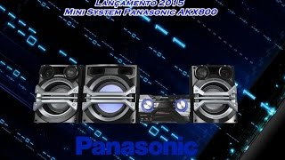 getlinkyoutube.com-Lançamento 2015 - Mini System Panasonic SC-AKX800