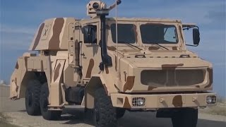 getlinkyoutube.com-RapidFire 40mm 6x6 multi role ground based gun air defense system Thales France French defense indus