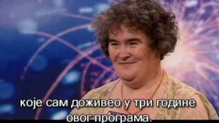 Ja imam talenta - britanski. Kada je zapevala, reakcije su bile očaravajuće. Susan Boyle - I Dreamed a Dream [HQ] (full, srpski)