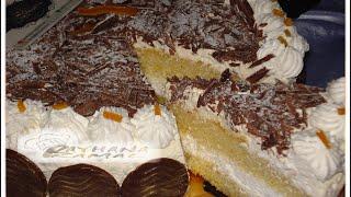 getlinkyoutube.com-شهيوات ريحانة كمال كيك بالشانتي و الشوكولا رائعة ، كيك عيد الميلاد