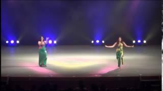 アルマスベリーダンススタジオ naomi&geela  bashret Khair/ Kazafy-Kazafy
