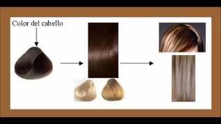 getlinkyoutube.com-Teñir el cabello con tinte color marrón y hacer mechas rubias claras en un solo paso