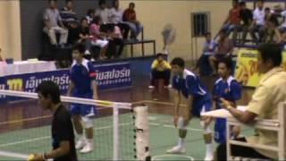 getlinkyoutube.com-Sepak Takraw 2009 Pro-League TTL Match.10 N.Pathom-Phrae