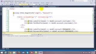getlinkyoutube.com-Login Form with ASP.NET MVC Framework