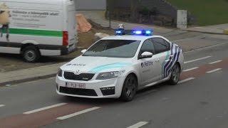 getlinkyoutube.com-Politie en ambulances met spoed bij het Saint-Luc Brussel