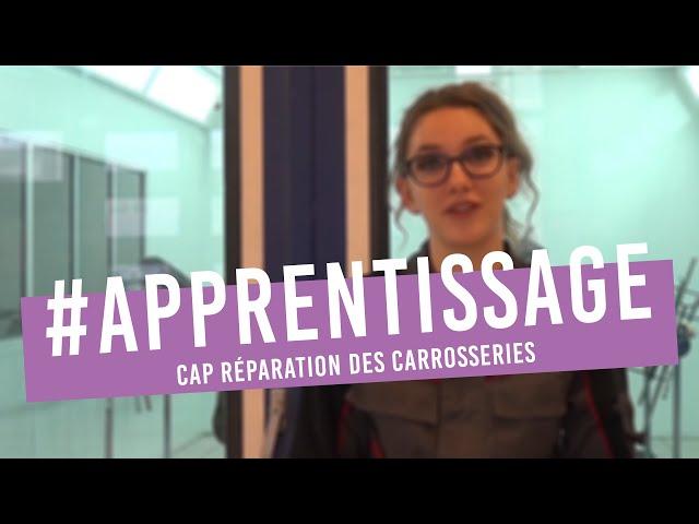 Eva, apprentie en CAP Réparation des Carrosseries