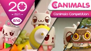 getlinkyoutube.com-Canimals | Collection 13 (Canimals Competition) | Full episodes for kids | 20 minutes