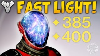 Destiny: HOW TO LEVEL UP FAST! Quickest Ways To Get 385 & 400 Light Levels Tips (Rise of Iron)