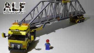 getlinkyoutube.com-Lego City 7900 Heavy Loader / Schwertransporter - Lego Speed Build Review