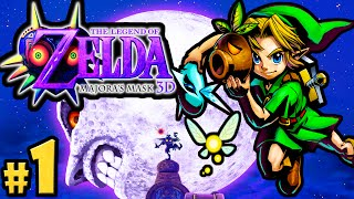 getlinkyoutube.com-The Legend of Zelda Majora's Mask 3DS Gameplay Walkthrough PART 1 Clock Town Scrub Nintendo