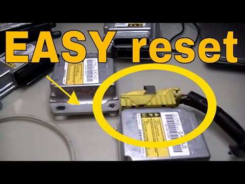 How to Reset/Repair clear the crash data from GM Airbag control module part 1