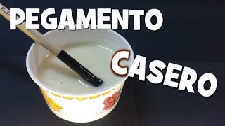 getlinkyoutube.com-Pegamento casero especial cartapesta - SPECIAL HOMEMADE GLUE FOR CARTAPESTA