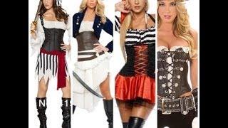 getlinkyoutube.com-☆Disfraz de pirata Mujer☆ Disfraces originales, baratos y caseros;)